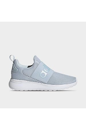 adidas Girls Casual Shoes - Girls' Big Kids' Essentials Lite Racer Adapt 4.0 Casual Shoes in /Halo Size 5.5