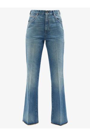 Gucci High-rise Flared-leg Jeans - Womens