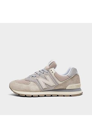 New Balance Men Casual Shoes - Men's 574 Rugged Casual Shoes Size 7.5 Suede