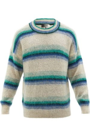 Isabel Marant Drussellh Striped Mohair-blend Sweater - Mens - Multi