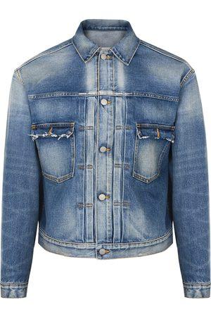 Maison Margiela Blue distressed denim jacket