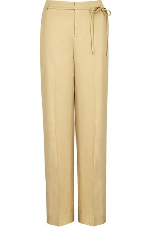 Vince Camel woven straight-leg trousers