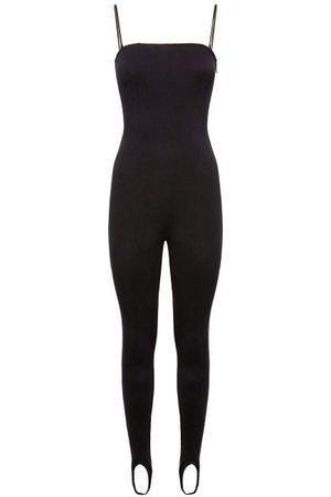 Wolford X Amina Muaddi Stirrup-cuff Jersey Jumpsuit - Womens