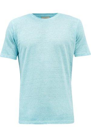 120% Lino Linen-jersey T-shirt - Mens - Light