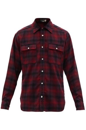 Isabel Marant Rayal Checked Wool-blend Shirt - Mens