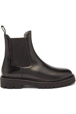 Isabel Marant Men Chelsea Boots - Castayh Leather Chelsea Boots - Mens