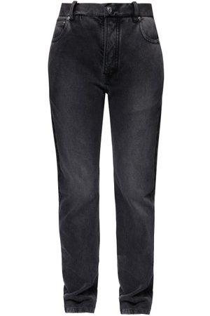 Balenciaga Women High Waisted - High-rise Straight-leg Jeans - Womens