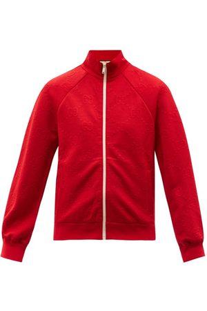Gucci GG-jacquard Jersey Track Jacket - Womens