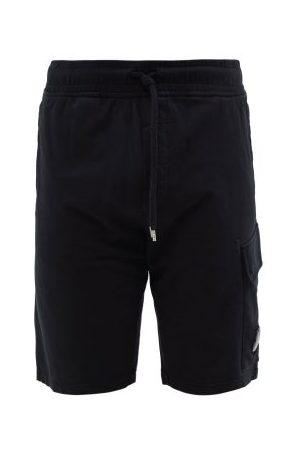C.P. Company Goggle-lens Cotton-jersey Shorts - Mens