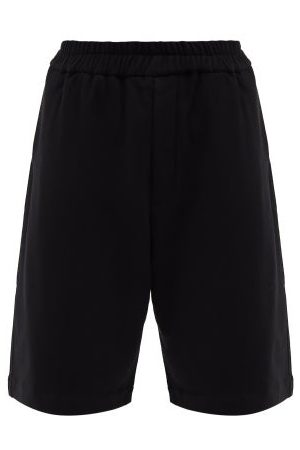 Jil Sander Elasticated-waist Cotton-jersey Shorts - Mens