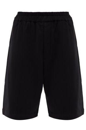 Jil Sander Men Shorts - Elasticated-waist Cotton-jersey Shorts - Mens