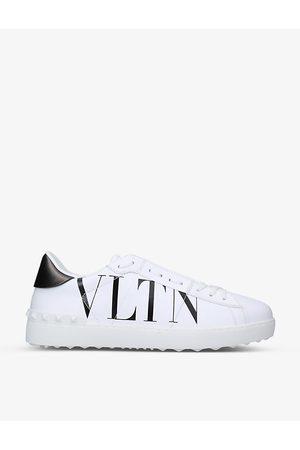 VALENTINO GARAVANI VLTN Rockstud leather low-top trainers