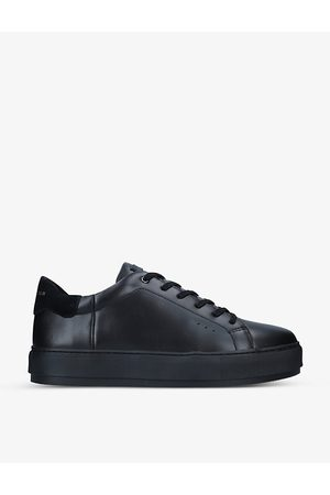 Kurt Geiger Laney platform leather trainers