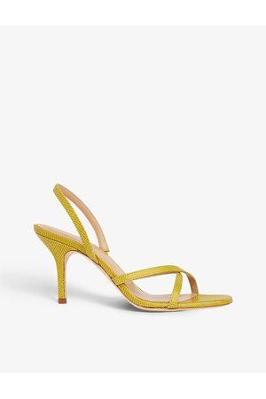LK Bennett Noon open-toe leather heeled sandals