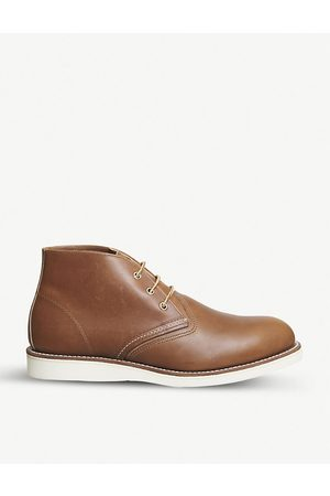 Red Wing Work Chukka leather boots