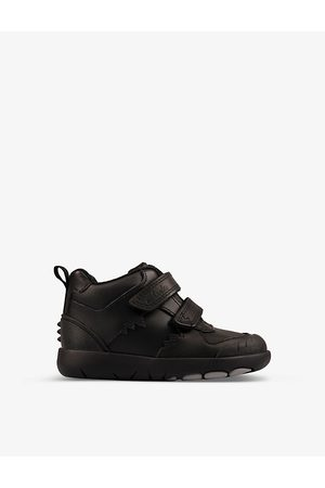 Clarks Rex Crash leather shoes 2-4 years