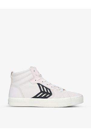 CARIUMA CATIBA Pro high-top suede and organic-cotton skate shoes
