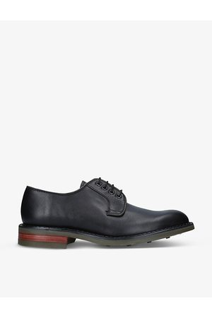 Barker Men Casual Shoes - Berry leather brogues