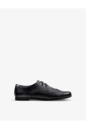 Clarks Scala leather Derby shoes 5-9 years