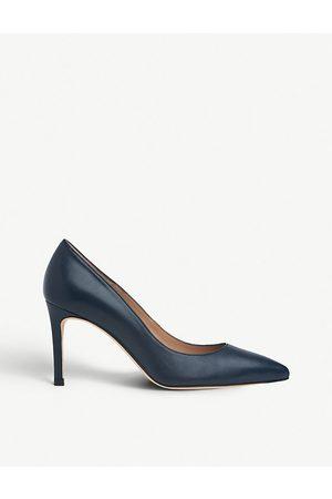 LK Bennett Floret leather court shoes