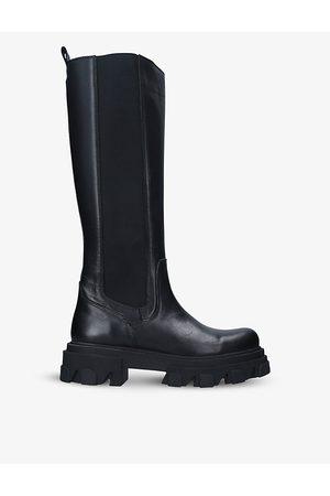 Carvela Shy High leather heeled knee-high boots
