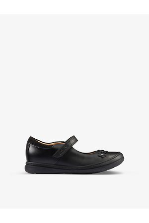 Clarks Scooter Jump Kid leather shoes 5-8 years