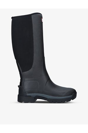 Hunter Balmoral Field Hybrid rubber and neoprene boots