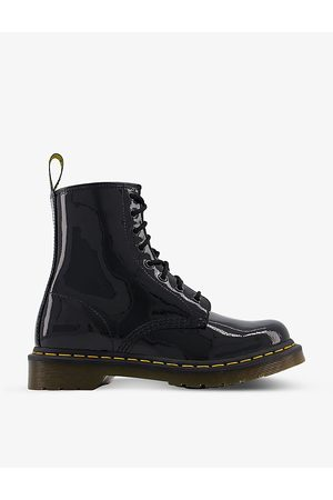 Dr. Martens 1460 8-eye patent leather boots, Mens, Size: 05/01/1900, patent
