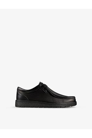 Clarks Mendip Crafter leather shoes 5-12 years