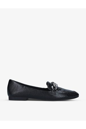 Steve Madden Kayson chain-detail leather loafers