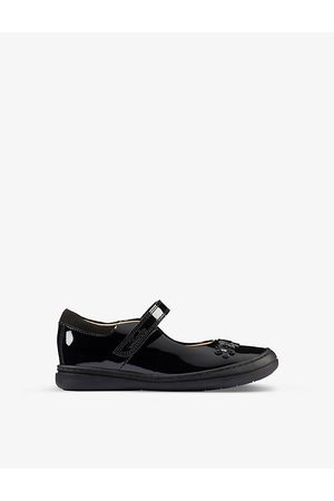 Clarks Scooter Jump Kid patent-leather shoes 5-8 years