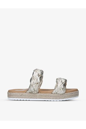 Steve Madden Kirsi faux-leather sandals