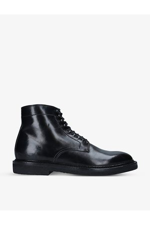 Officine creative Men Ankle Boots - Hopkins Crepe leather ankle boots