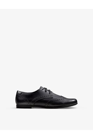 Clarks Boys School Shoes - Scala Lace Youth leather derby brogues 9-12 years