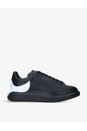 Alexander McQueen Men's Show leather platform trainers