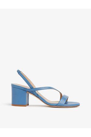 LK Bennett Nine cross-strap leather heeled sandals