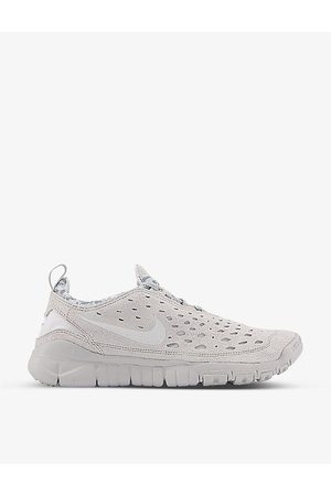Nike Free Run Trail perforated suede trainers