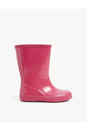 Hunter Original Kids gloss rubber wellington boots 2-7 years