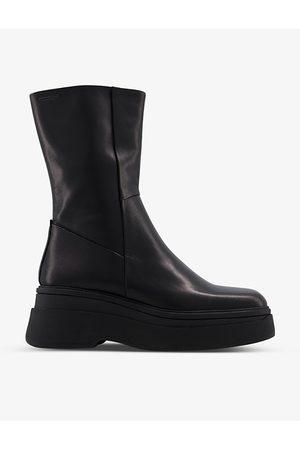 Vagabond Carla leather ankle boots