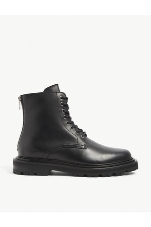 The Kooples Zip-detail leather ankle boots