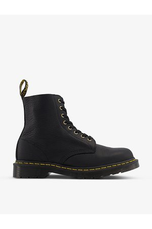 Dr. Martens 1460 8-eyelet grained-leather shoes