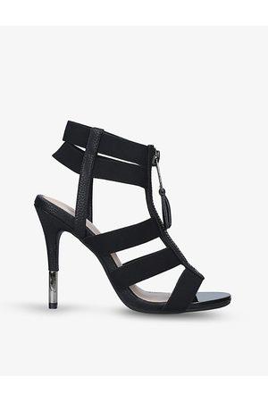 Carvela Kunning zip-detail ankle-strap heels