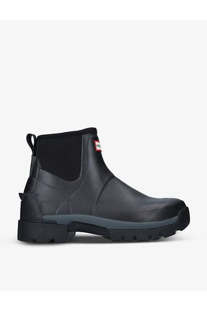 Hunter Field Balmoral Hybrid rubber ankle boots