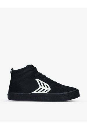 CARIUMA CATIBA Pro suede and organic-cotton high-top skate shoes