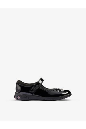 Clarks Sea Shimmer leather shoes 5-8 years