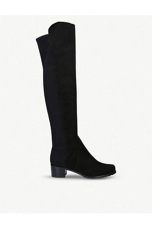 Stuart Weitzman Reserve suede over-the-knee boots