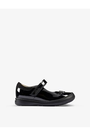 Clarks Scooter Jump leather shoes 2-4 years