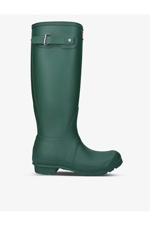Hunter Original Tall vulcanised natural rubber wellington boots