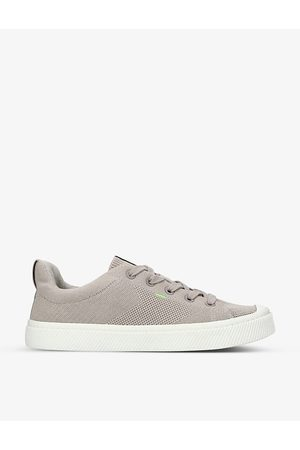 CARIUMA Mens IBI Low bamboo-knit and recycled-polyester trainers
