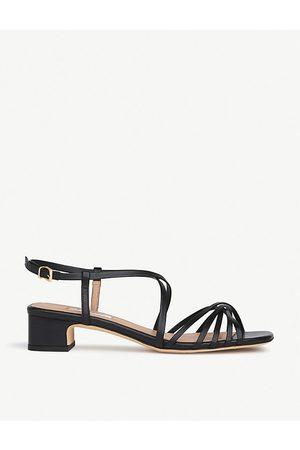 LK Bennett Newport strappy leather heeled sandals
